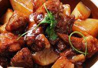 香辣萝卜羊肉